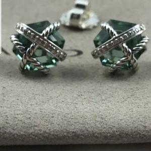 David yurman 10mm wrap Earrings